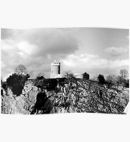 Clifton Observatory, Bristol Poster