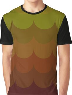 Autumn wave pattern Graphic T-Shirt