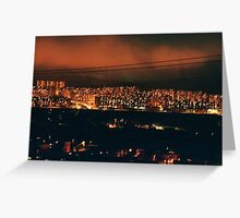 small cities big flats / ground seven Greeting Card
