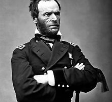 General William Tecumseh Sherman by warishellstore
