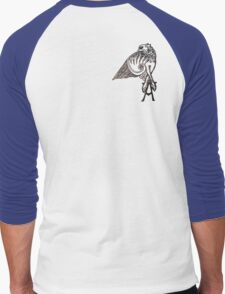 Angel's Tattoo Men's Baseball ¾ T-Shirt