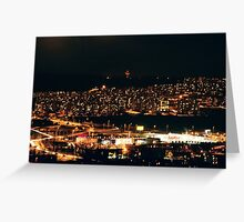 small cities big flats / ten Greeting Card