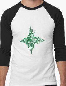 Abstract Green Bird T-Shirt