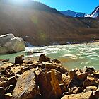 Edith Cavell Glacier by Luann wilslef