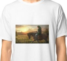 THE LEGEND OF ZELDA HD HYRULE  Classic T-Shirt