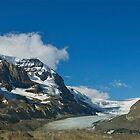 Glacier Ice  by Luann wilslef