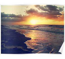 Atlantic Ocean Sunrise Poster
