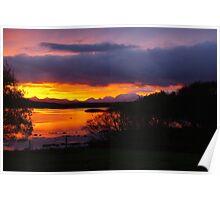 Sunrise over Loch Dunvegan Poster