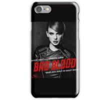 BAD BLOOD BEAUTIFUL TAYLOR SWIFT iPhone Case/Skin