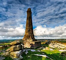 Carn Brea Panorama by Matt Thorning