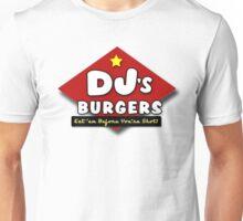 DJ's Burgers (ugly sobbing) Unisex T-Shirt