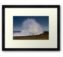 """""""Roadknight Spray"""" Framed Print"""