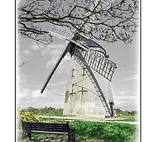 The Old Windmill at Bidston by DavidWHughes