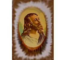 Jesus From An Estate Sale Photographic Print