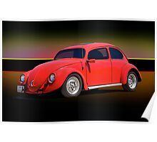 1966 Volkwagon 'Beatle Bug' Poster