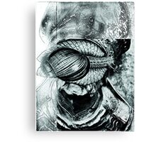 Regression of Reason (sculpture study 2.) Canvas Print