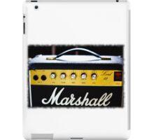 marshall 80's Lead 12 amp... iPad Case/Skin