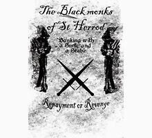 The black monks of St Herod Unisex T-Shirt