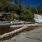 Tsusiat Falls - West Coast Trail, Vancouver Island, Canada by Phil McComiskey