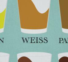 Types of Beer Sticker