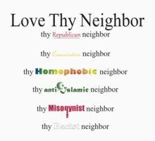 Love Thy Neighbor by Daire Ó'Hearáin-Olsen