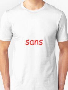 Comic Sans - Sans T-Shirt