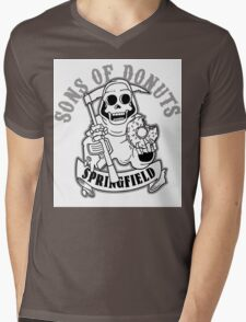 SONS OF DONUTS SPRINGFIELD Mens V-Neck T-Shirt