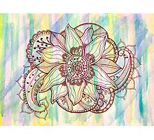 Zentangle #3 Photographic Print