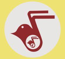 Retro Bird Logo Kids Tee
