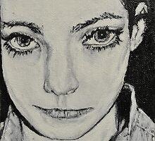 'Before Braces' Self Portrait by Katie  McNeice