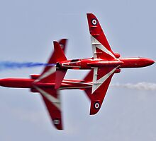 Red Arrows Synchro Pair by PhilEAF92
