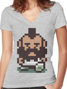 Mr. T ... Is that you? Earthbound / Mother 2 Women's Fitted V-Neck T-Shirt