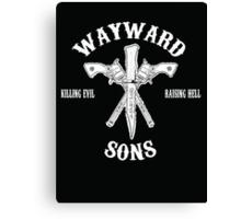 Supernatural - Wayward Sons Canvas Print