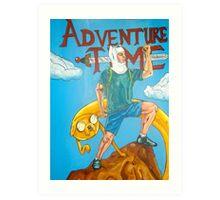 Adveture Time! Art Print