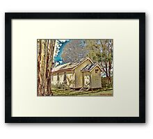 Chapel at Couts Crossing Framed Print
