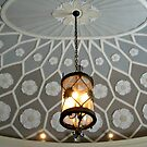 Beautiful Ceiling and Lamp In Vestible, Montclair Art Museum by Jane Neill-Hancock