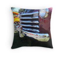 Chevy Chrome Throw Pillow