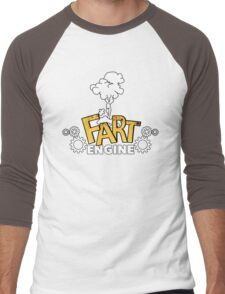 Fart Engine Hilarious Men's Baseball ¾ T-Shirt