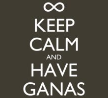 Keep Calm and Have Ganas - Dark by olmosperfect