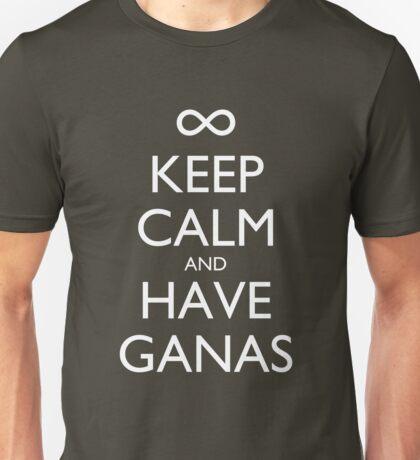 Keep Calm and Have Ganas - Dark Unisex T-Shirt