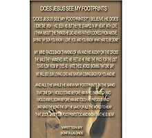 ❤ † ❤ † DOES JESUS SEE MY FOOTPRINTS IPHONE CASE ❤ † ❤ † by ╰⊰✿ℒᵒᶹᵉ Bonita✿⊱╮ Lalonde✿⊱╮