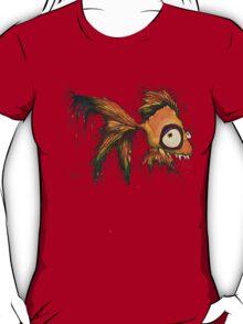 gold fingerrrrr the zombie fish T-Shirt