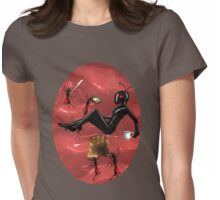 ✿♥‿♥✿WORKER ANTS PREPARING BREAKFAST FOR QUEEN ANT TEE SHIRT ✿♥‿♥✿ Womens Fitted T-Shirt