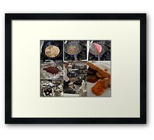Team 7 smoked beef blade Framed Print