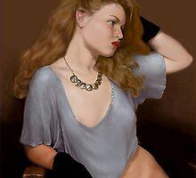Glove girl - digital by SteveCriz