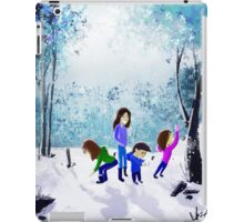 Playing in the Snow iPad Case/Skin