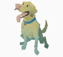 Yellow lab by didelphis