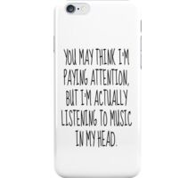Music Lover iPhone Case/Skin