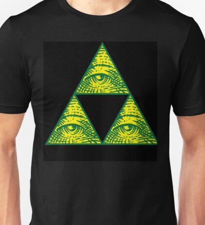 THE LEGEND OF ZELDA ILUMINATI  Unisex T-Shirt