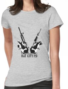 Rat City Womens Fitted T-Shirt